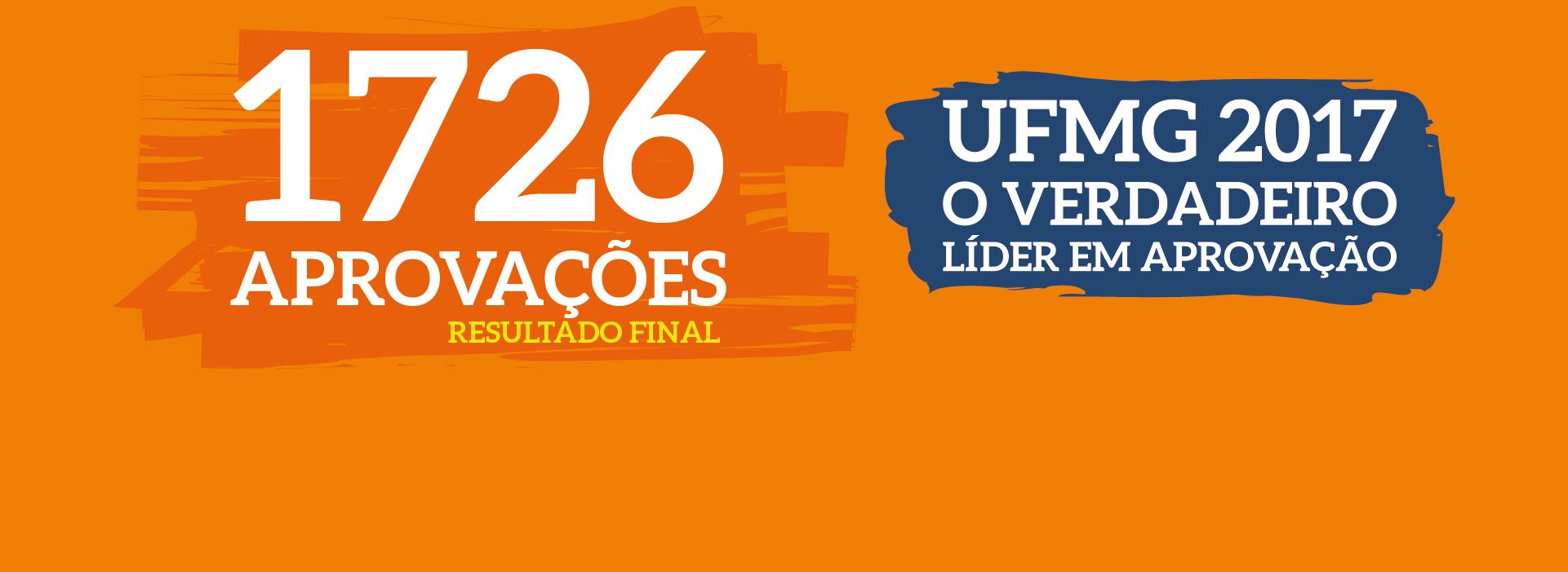 26-01-18 - Lista de Aprovados UFMG 2017-01