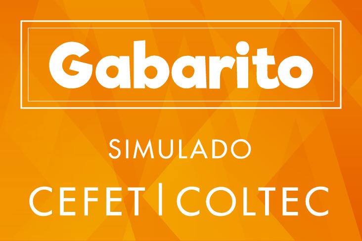 Gabarito-CEFET-COLTEC