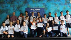 Medalhistas Chromos Venda Nova