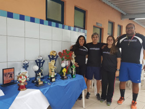 Técnicos: Ludmilla, Jaime, Natasha e André