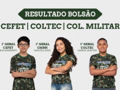 NOTICIAS SITE - Resultado - Bolsão CMBH-CEFET-COLTEC-01