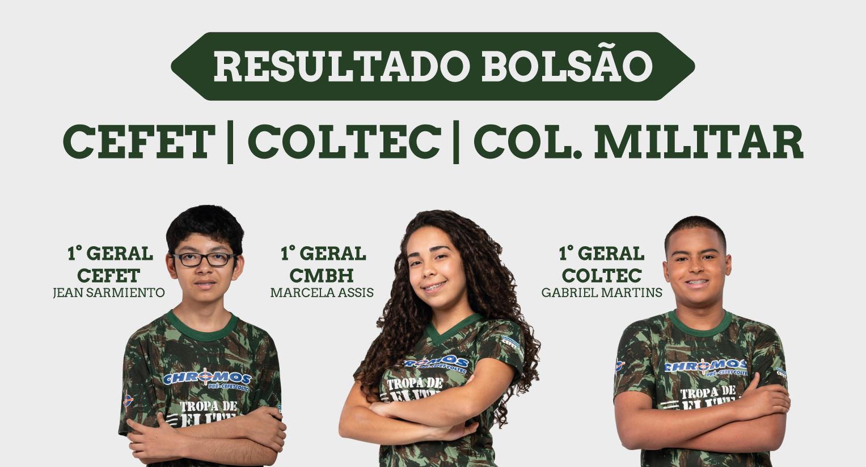 POPUP SITE - Resultado - Bolsão CMBH-CEFET-COLTEC-01