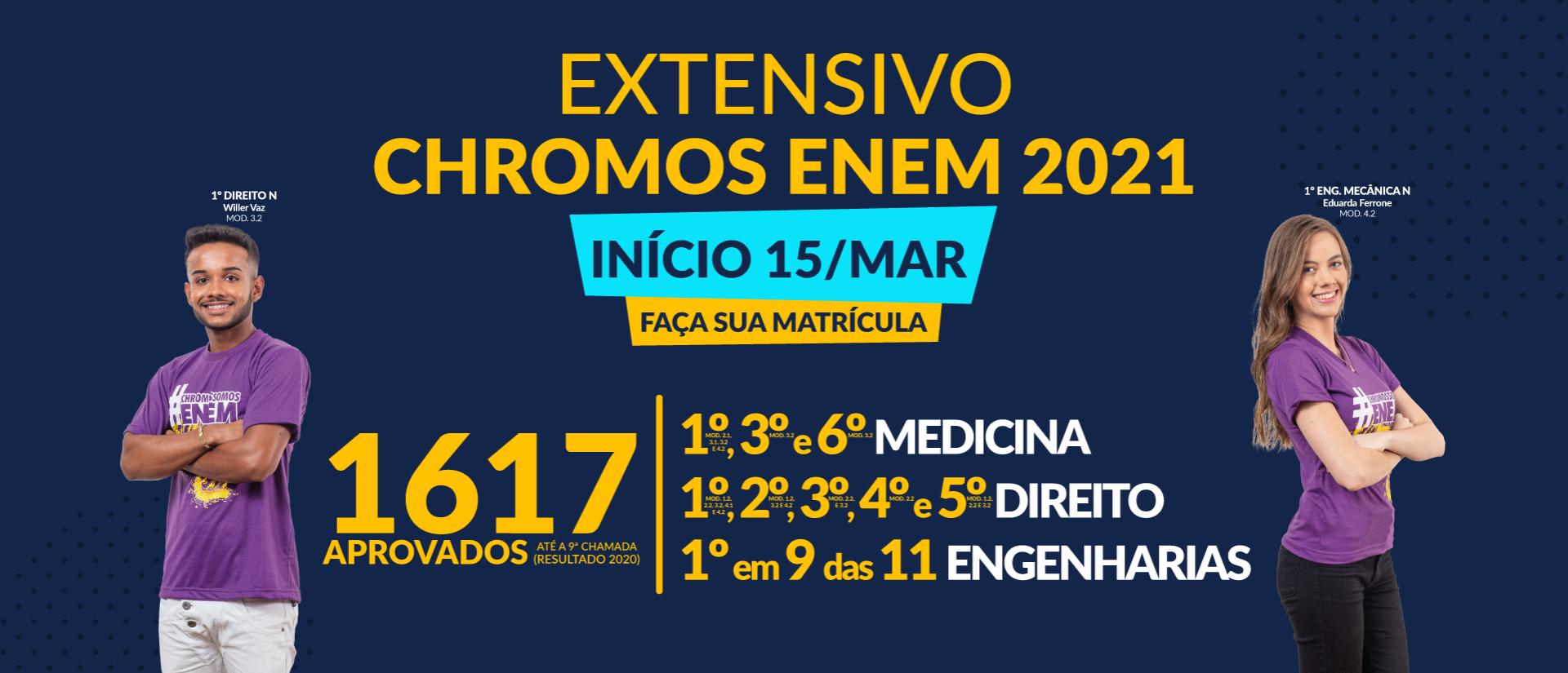 26-02 - Site - Extensivo Chromos - Turmas de Março_banner-rotativo