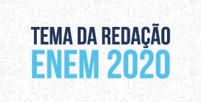 Thumb - Notícias - Tema da Redação ENEM 2020-01